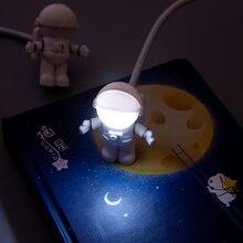Светодиодный usb ночник Белый Портативный Гибкий Светильник