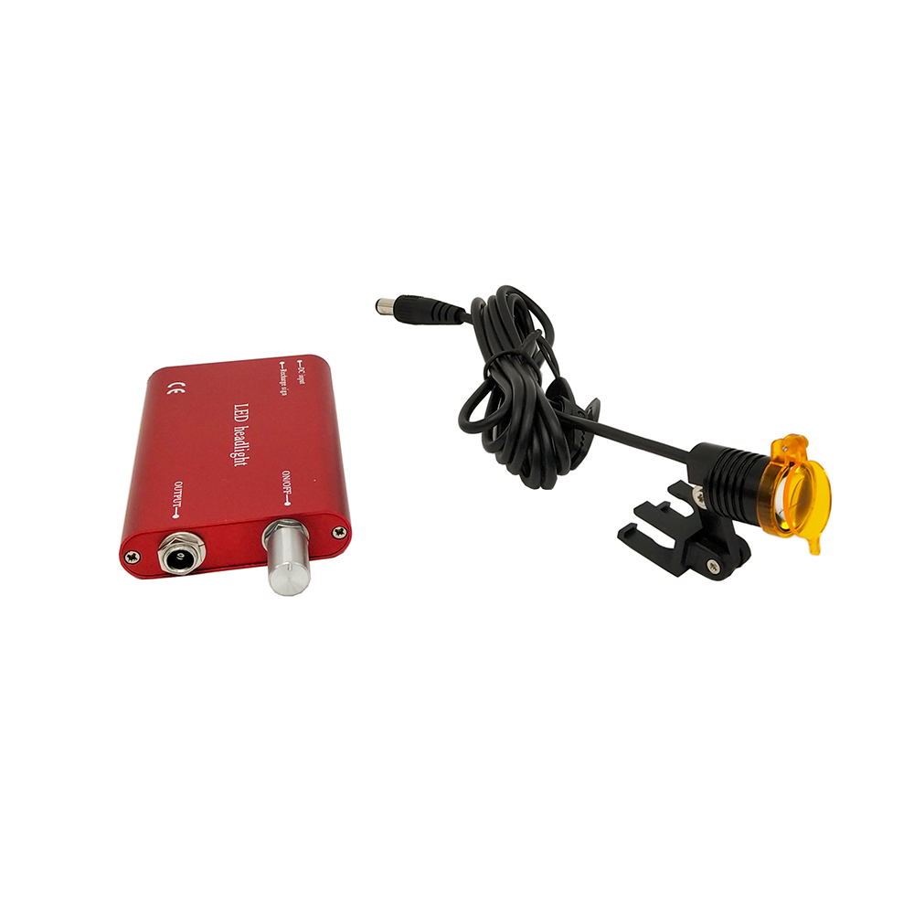 Image 2 - Dentist Tool Dental Equipment Portable LED head Light Lamp for  Dental Surgical Medical Binocular loupes Dental MagnifierTeeth  Whitening