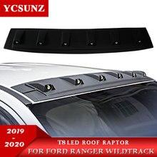 2012 2020 2019 Led Dach Licht Raptor Stil Dach Zubehör Für FORD RANGER Wildtrack T8 2019 2020 T6 T7