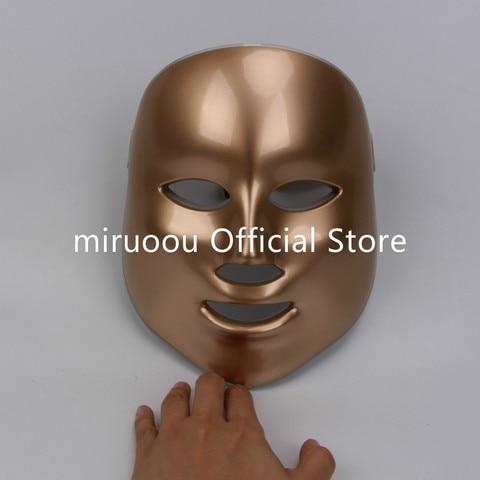 7 cores novo coreano led m scara facial uso dom stico instrumento beleza anti acne