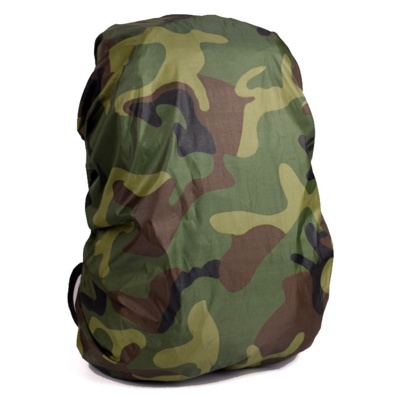Outdoor Climbing Portable Camouflage Backpack Cover Waterproof Rainproof Rain Rucksack Pack Dustproof Cover For Travel Camping