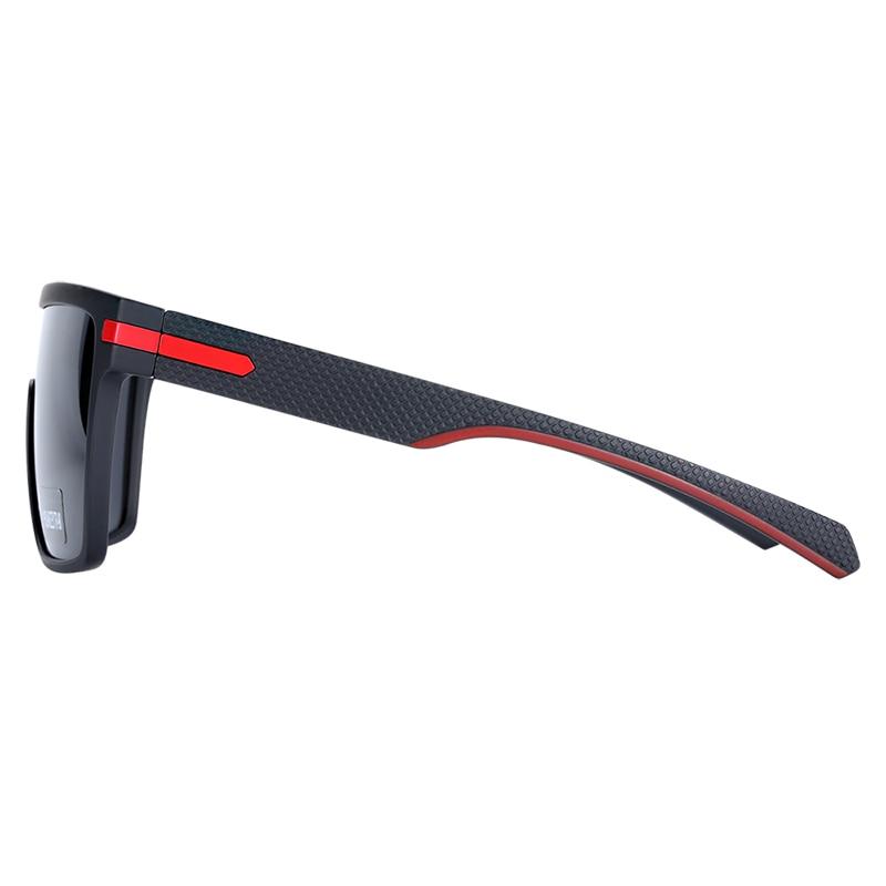 BARCUR Oversized Polarized Sunglasses Men Square Driving