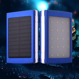 Image 2 - 5v/1a, 2a עיצוב הכפול נייד usb led אור 5 תא 18650 שמש סוללה מטען תיבת diy כוח בנק סגסוגת ערכת אביזרי תיבה