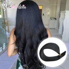 HiArt 0,8 г, волосы для наращивания на плоских кончиках, волосы remy, кератиновые волосы для наращивания, для салона, волосы для наращивания, человеческие кератиновые волосы