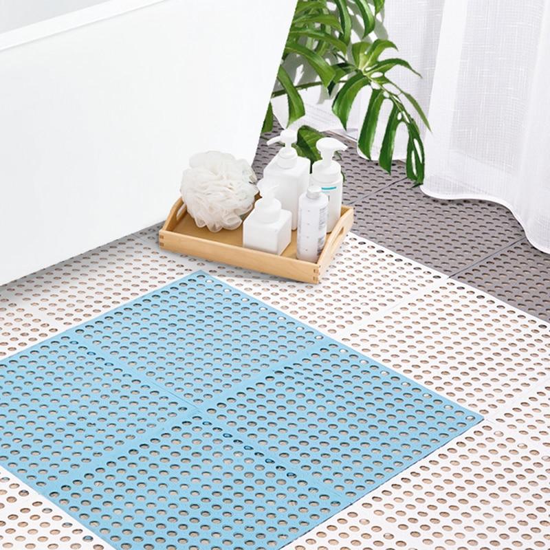 Купить креативный набор ковриков для ванной комнаты сетчатый мягкий