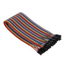 Гибкий соединительный кабель без пайки для женщин и женщин 40 шт