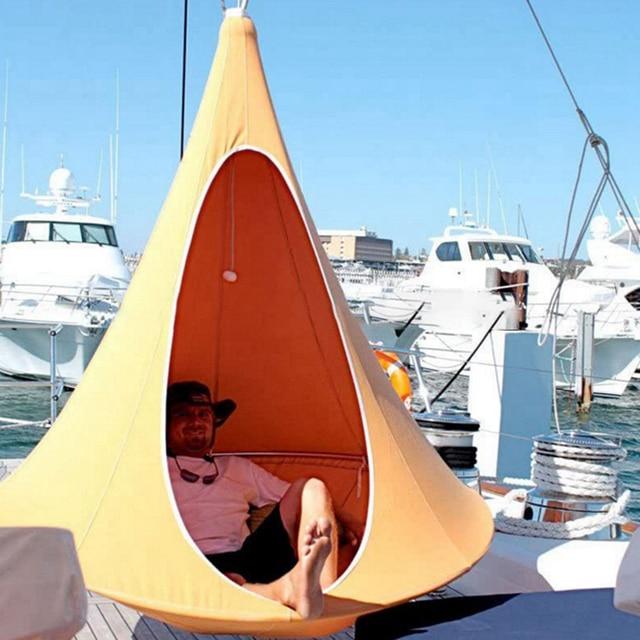 Camping Tree Teepee Cocoon Swinging Hammock  4