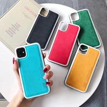 Phone Case For iPhone 11 Pro Max Cute Candy Color PU Back Case For iPhone 6 6S 7 8 Plus Max XR XS X Fashion Case new iphone case for iphone 11 for iphone11 pro max 5 8 inches 6 1 inches 6 8 inches 6 6s 7 8 plus ix xr max x fashion back cover