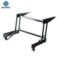 Folding lifting air spring tea table hinge function furniture lifting frame coffee table computer table frame furniture hardware