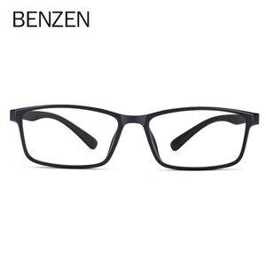Image 2 - BENZEN באיכות משקפיים מסגרת גברים נשים Ultralight משקפיים אופטיים מסגרת כיכר מרשם משקפיים 5196