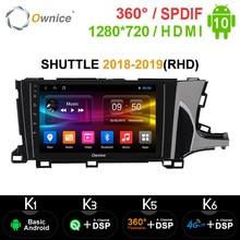 Ownice K3 K5 K6 2din Android 10.0 Octa çekirdek GPS Navi Honda SHUTTLE 2018 2019 4G LTE 360 panorama DSP SPDIF araba radyo çalar