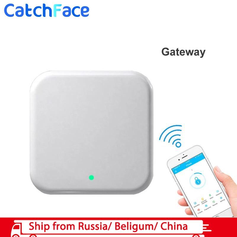 TT Lock App Electronic WiFi Bluetooth Control Gateway On Store Black Color G2 Version