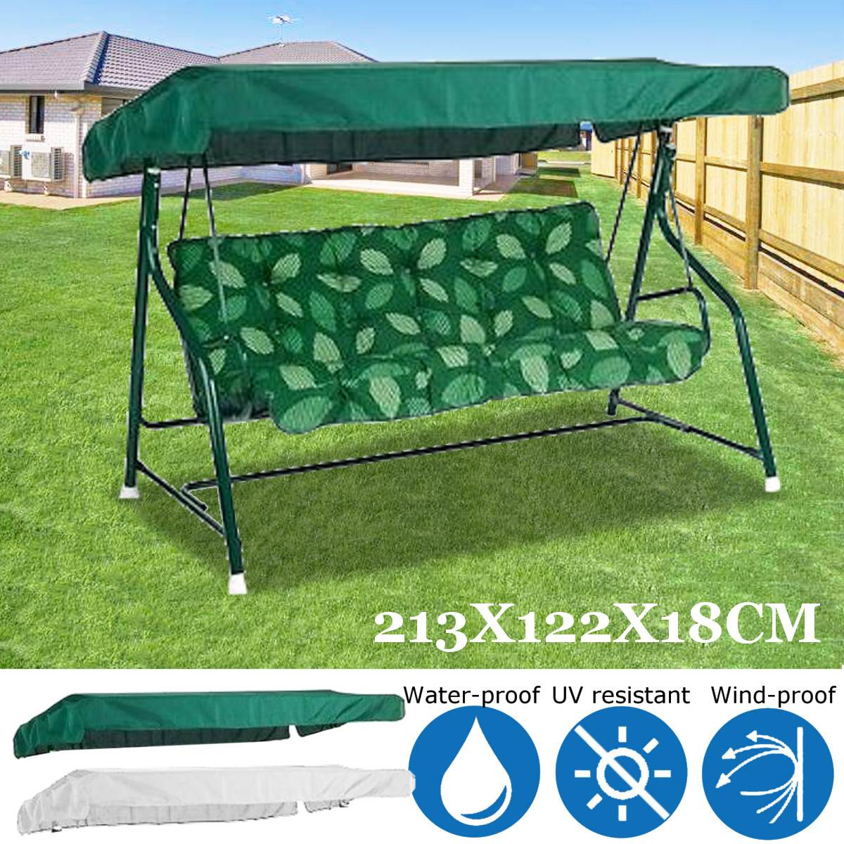 Garden Swing Seat Chair Top Cover