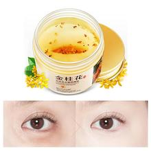 Golden Osmanthus Collagen Pads Moisturizing Eye Mask Anti-Wrinkle Remove Dark Circle Concentrated Recovery Eye Mask 1 pair hyaluronic acid eye mask cream remove dark circle eye bag anti wrinkle eye patch whitening moisturizing face mask masage