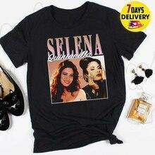 Selena Quintanilla Vintage 90S T Shirt Black Size S 3Xl