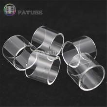 5pcs FATUBE Straight glass Cigarette Accessories for Eleaf ELLO/ELLO DURO 5ml/ELLO TS Tank 4ml/ELLO vate/PICO 25 eleaf ello series coil head hw1 0 2ohm hw2 0 2ohm hw3 0 3ohm hw n 0 2ohm hw m 0 15ohm for eleaf ello series tank vape vaporizer