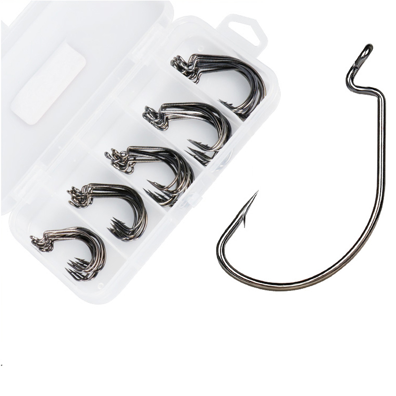 50pcs-box-high-carbon-steel-font-b-fishing-b-font-hooks-black-crank-lead-sharp-hooks-super-big-black-barbed-wide-crank-hook-5-sizes-2-3-0
