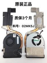 Оригинальный вентилятор для Dell Latitude E6530 радиатор 02MK5J 2MK5J cn-02MK5J