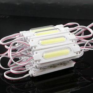 Image 3 - DHL 1000 adet/grup lens ile enjeksiyon COB LED modülü su geçirmez LED arka işık arka işık işareti kanal mektup için DC12V 2W IP