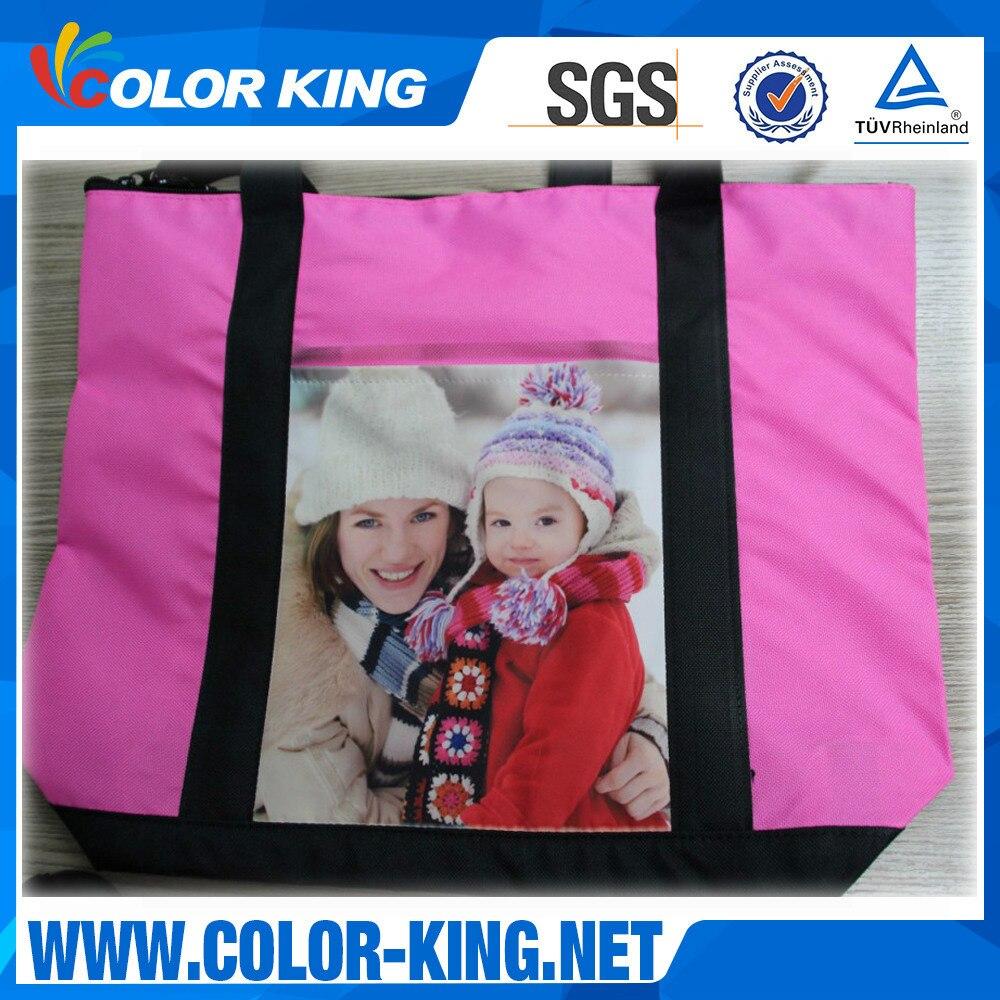 Thermal Transfer Canvas Bag 130g Thermal Transfer Blank Diaper Bag Thermal Transfer Advertisement Shoulder Casual Diaper Bag