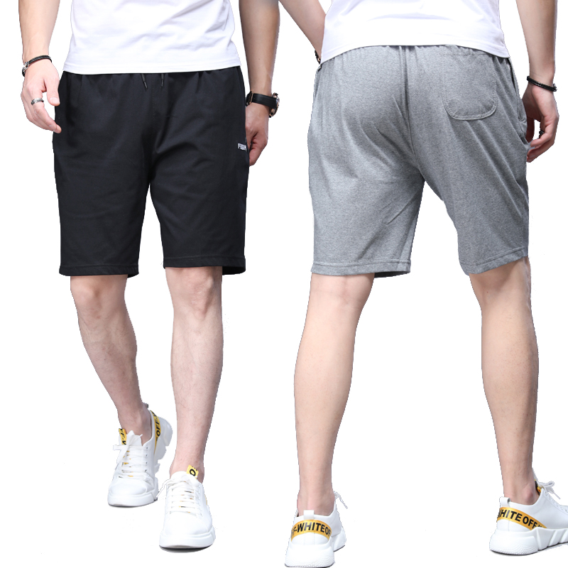 Running Shorts Cropped Men's Cotton Short Summer Knee Shorts Half Pants Breathable Casual Wear Shorts Quality Assurance