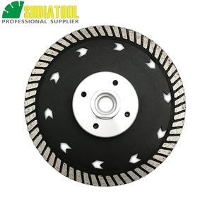 """Image 2 - SHDIATOOL 1pc 115mm or 125mm Diamond Cutting Grindng Disc Dia 4.5"""" or 5"""" Dual Saw Blade Cut Grind Sharpen Granite Marble blades"""