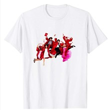 Футболка для мужчин и женщин, школьная футболка с музыкальными прыжками, с рисунком Троя, Болтона, Sharpay, Габриэла, подарок