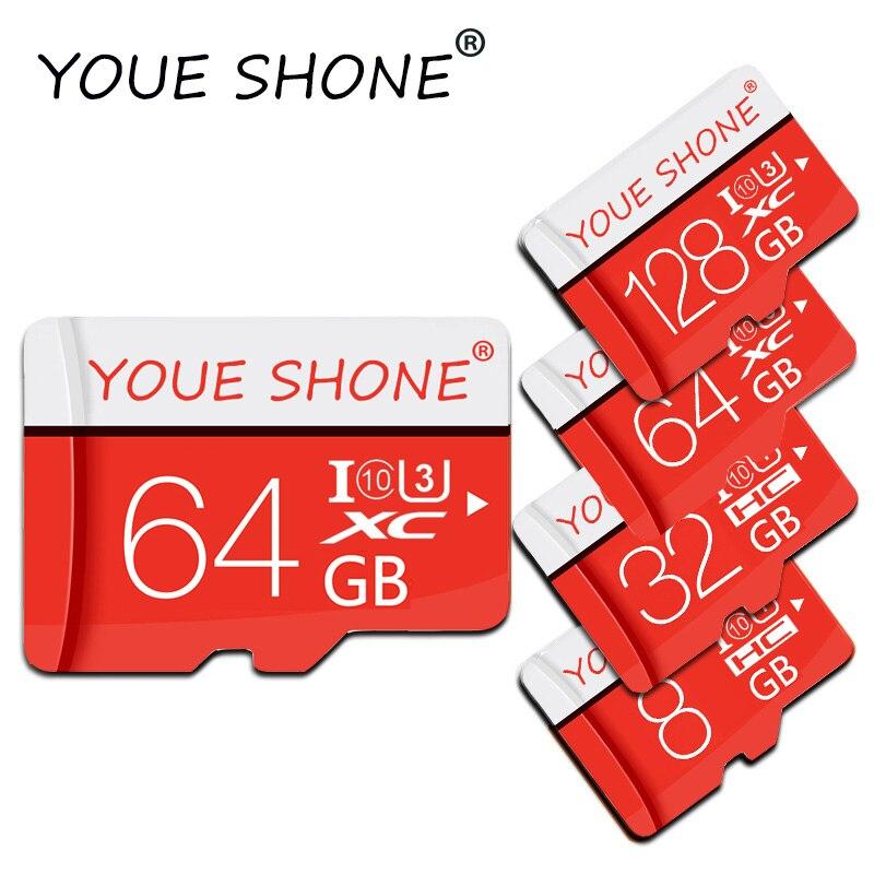 100% Real Capacity Memory Card Microsd 8GB 16GB 32GB Class 10 SDHC/SDXC Micro SD Card 64GB 128GB Cartao De Memoria Tarjeta SD