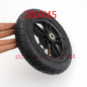 """Image 5 - 8 Inch Inflated Wheel For E twow S2 Scooter M6 Pneumatic Wheel With Inner Tube 8"""" Scooter Wheelchair Air Wheel Can Loading 100Kg"""