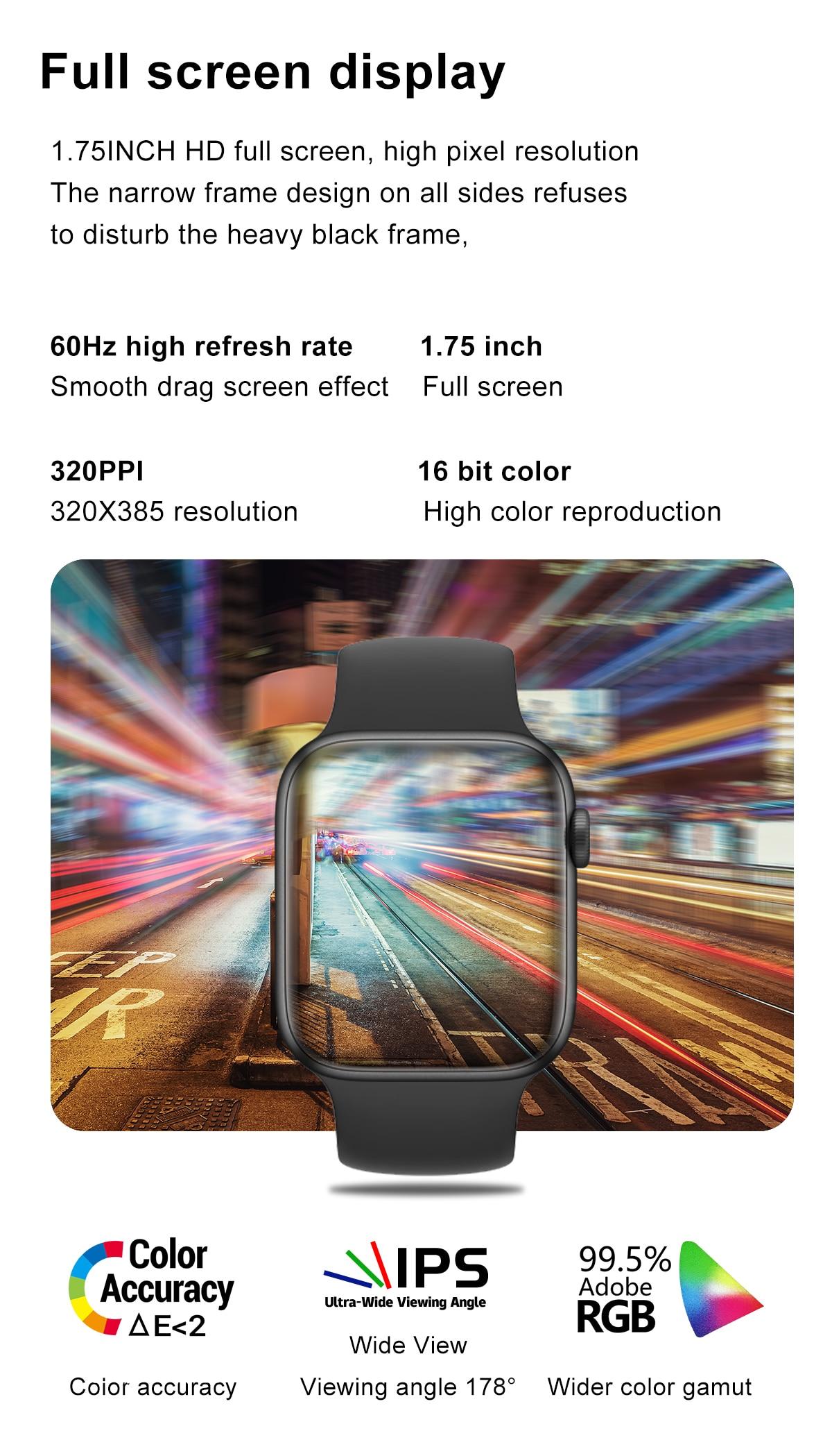 H41c8276d05314b04a964fbf11e7f83b5o DT100 pro Smart Watch Bluetooth Call Custom Dynamic Watch Face IP68 Waterproof Smartwatch Men Women for Apple Watch Iwo W26