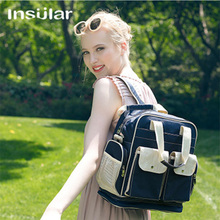 Insular Mummy Maternity Baby Nappy Stroller Bag Large Capacity Diaper Travel Backpack Nursing Bag Baby Care Women's Changing Bag large capacy baby diaper bag hobos large baby nappy bag messeger maternity bags baby care changing bag for stroller