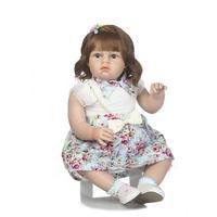 New 70cm real Baby Girls Dolls Boutique Soft Silicone baby Reborn Toddler Dolls Lifelike bebe reborn Princess Dolls Toys