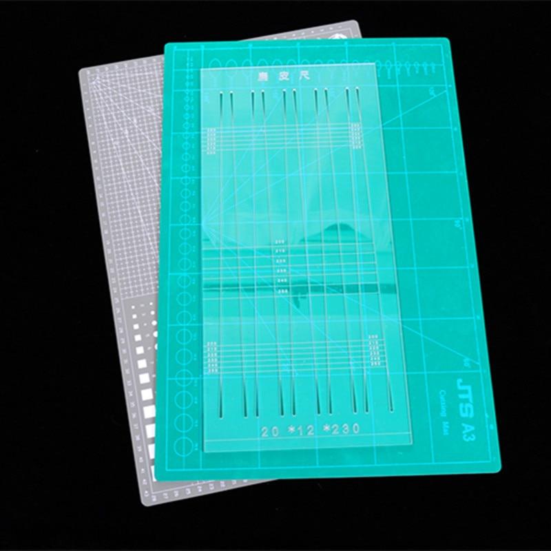 A3 Cutting Pad Board 3-layer Cutting Board Pvc Cutting Board Diy Self-healing Grid Line Craft Card Leather Cloth Paper Hob Pad