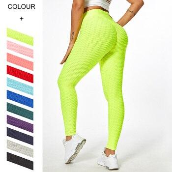 Leggings Women High Waist Fitness Sporting Leggins Anti Cellulite Leggings 2021 Push Up Workout Legging For Women Gym Clothings 1