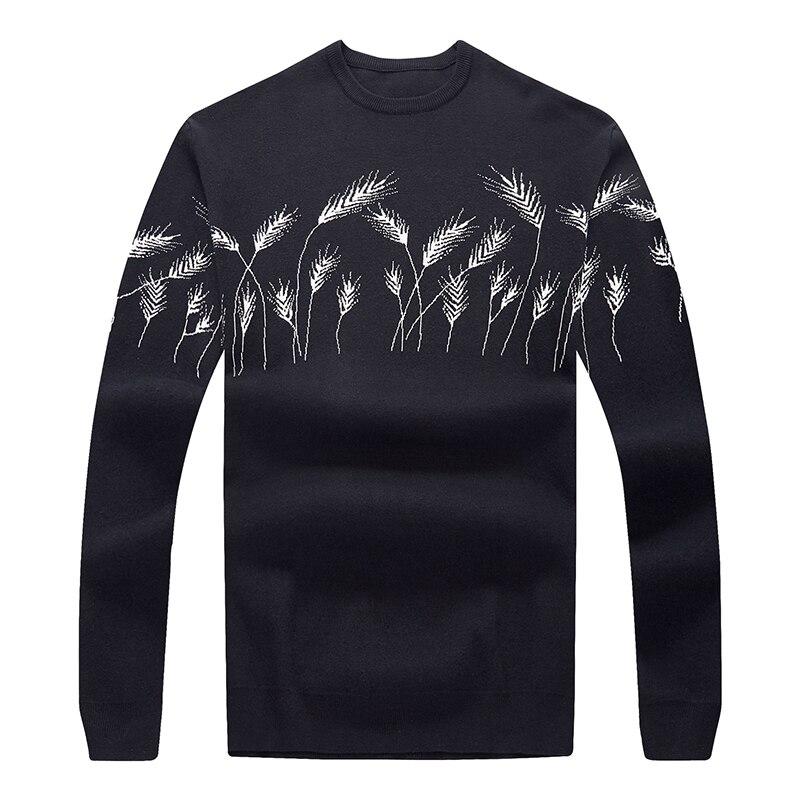 10XL 8XL 6XL 5XL Vertvie Мужской Повседневный свитер с круглым вырезом, осенне зимний Рождественский пуловер, вязаный джемпер, свитера, приталенный - 2