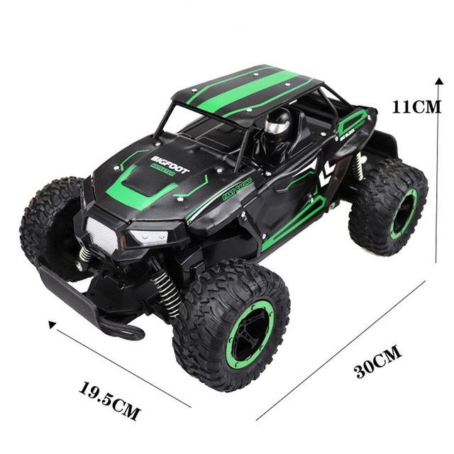 1:14 35Km/h RC Car Metal Alloy Body Crawlers Remote Control Off-Road Truck Cars Electric Vehicle For Kids Adults RC Car 4WD Toys 6