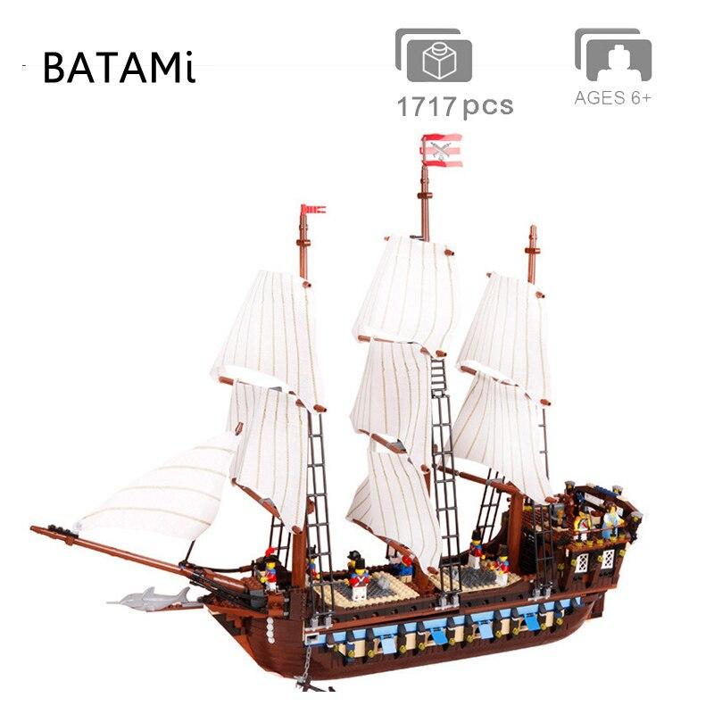 16006 16009 16016 22001 Pirates Of The Caribbean The Black Pearl Ship Model Building Blocks Bricks Compatible 4184 4195 10210