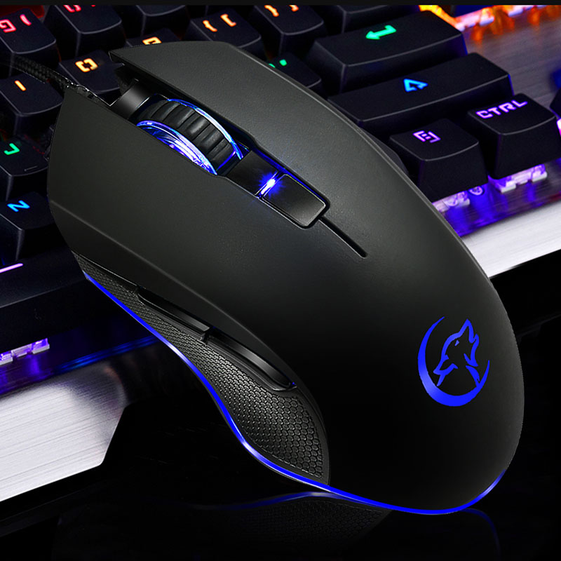 G812 Game Optical Wired Mouse Colorful Breathing Light Professional Gaming Mouse NK-Shopping