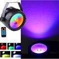 Беспроводной пульт дистанционного управления RGB + УФ-эффект 30 Вт LED COB Par Light DMX512 LED Wash Effect сценическое освещение хорошее для DJ диско домашней в...