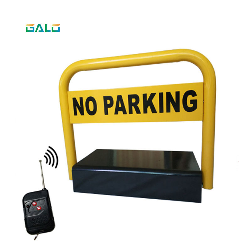 2 Remote Controls Automatic Parking Barrier,reserved Car Parking Lock,parking Facilities