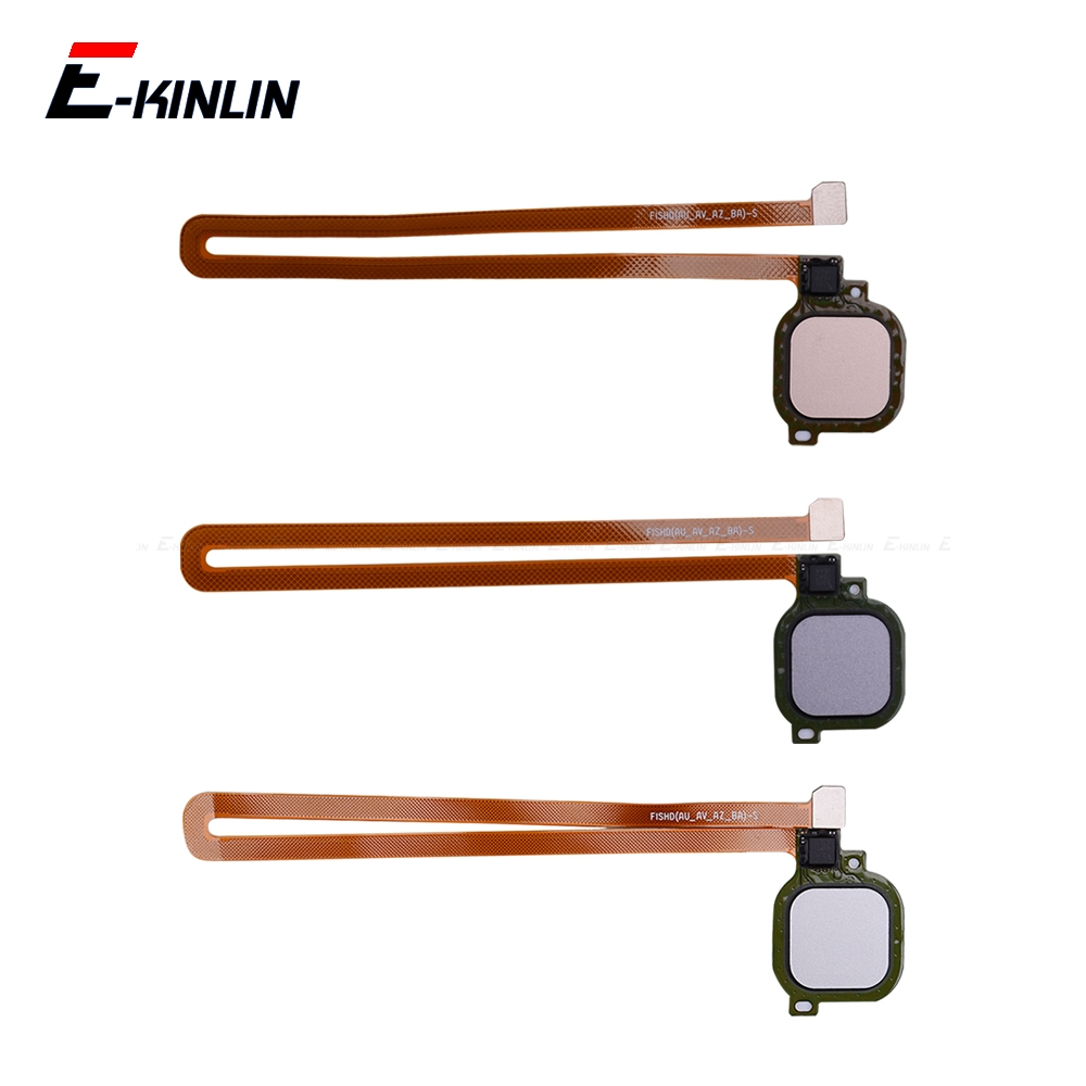 Fingerprint Scanner Connector For HuaWei Honor 6C 6A 6X 5C Pro GR5 2017 Touch Sensor ID Home Return Button Key Flex Cable