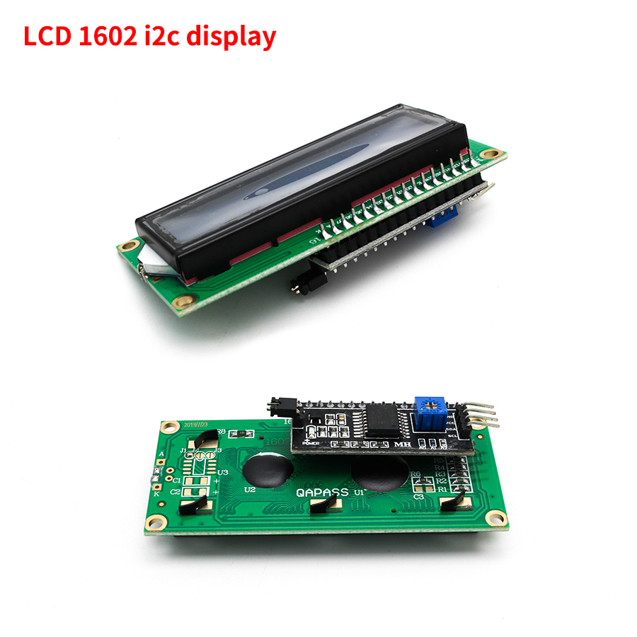 Lcd display lcd1602 i2c arduino module blue screen 1602 i2c lcd display module hd44780 16x2 iic character 1602 5v for arduino lcd display