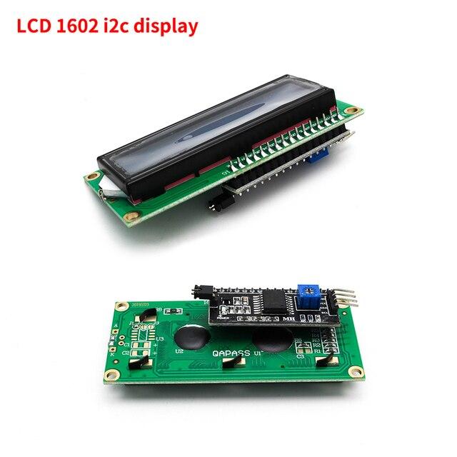 LCD display LCD1602 module Blue screen 1602 i2c LCD Display Module HD44780 16x2 IIC Character 1602 5V for arduino lcd display 3