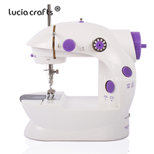 Electrec Mini Home Portable Handheld Sewing Machines To Sew For Sew Needlework Clothes Fabrics Sewing Tailor Stitch Set 089184