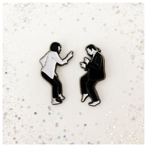 Pulp Fiction Enamel Pin Set Lapel Pins Badge