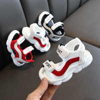 Kids Shoes 1 Pair Casual Children Kids Shoes Baby Boy Closed Toe Summer Beach Sandals Flat Breathable Beach Slip-On Shoes
