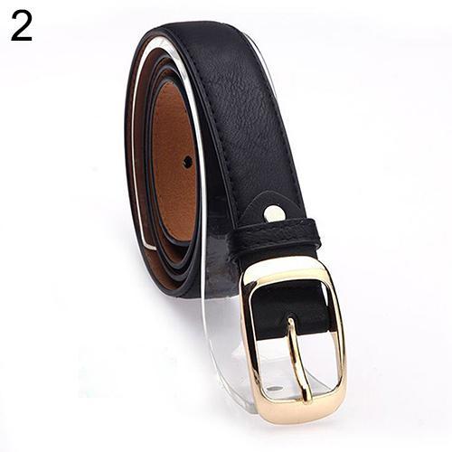 Women's Fashion Waist Belt Brand All-match Faux Leather Belts Casual Waistband Strap
