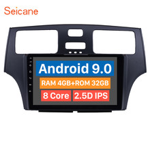 Seicane Android 9.0 9 inch HD Touchscreen DVD 1 Din Car Radio GPS System For 2001 2002 2003 2004 2005 Lexus With FM WIFI(China)