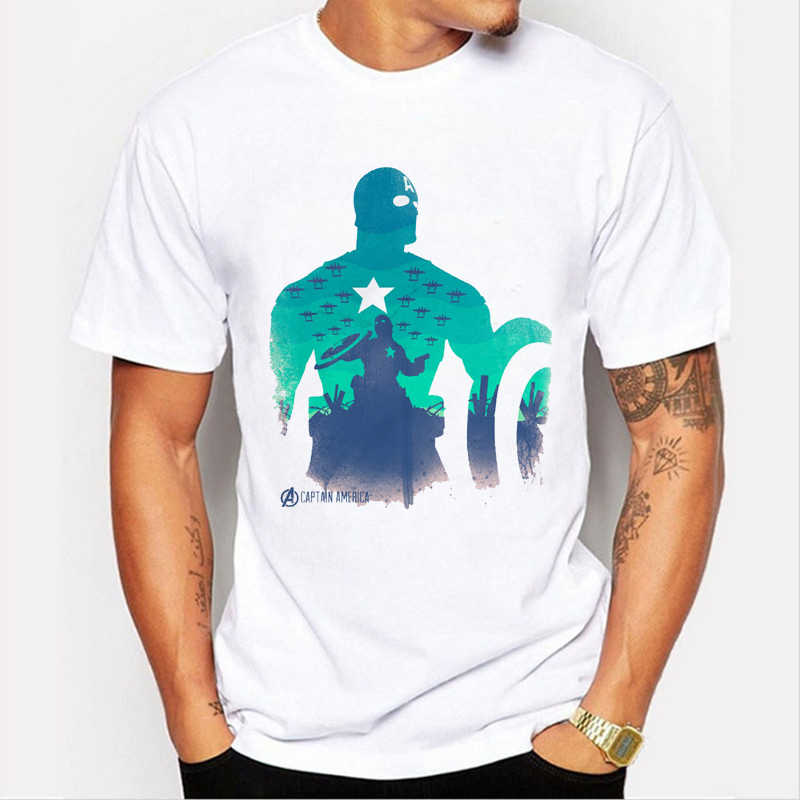 2020 camisetas de superhéroes hombre Spiderman Hulk Capitán América Loki Thor Viuda Negra Hawkeye vengadores camiseta