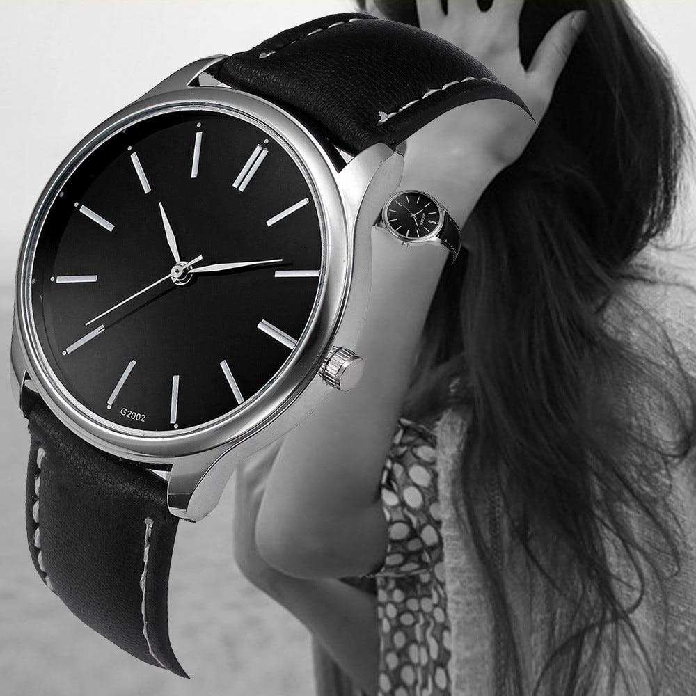 Drop Ship Mens Wristwatches Retro Design Leather Band Analog Alloy Quartz Wrist Lady Dress Watches